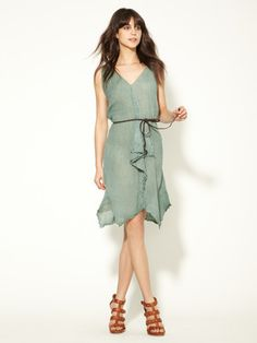 Sam & Lavi Linen Elda Tank Dress