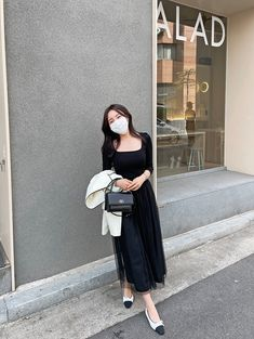 Modest Outfits, Classy Outfits, Dress Outfits, Cool Outfits, Fashion Outfits, Dresses, Korean Girl Fashion, Korea Fashion, Jhope Sister