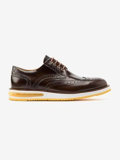 Brogue - Barleycorn. Air Brogue Brown Leather 9687d121125