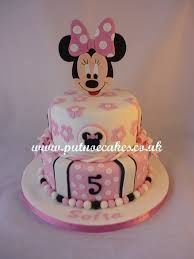 Image result for minnie mouse buttercream cake
