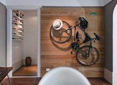 bicicleta usada na decoração