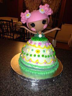 Cora's Lalaloopsy birthday cake