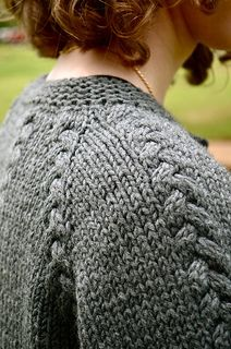 Scarlett's Cardi by Annie Riley, more pictures and pattern available to buy on Ravelry.