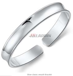 Cheap Silver Jewelry, Crystal Jewelry, Silver Bangles, Cuff Bracelets, Crystals, Sterling Silver, Cuffs, Smooth, Accessories
