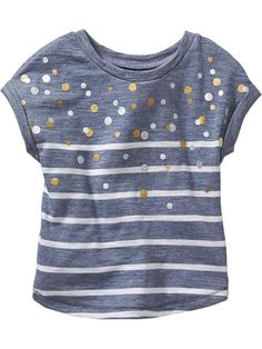 Patterned Slub-Knit Tees for Baby Product Image