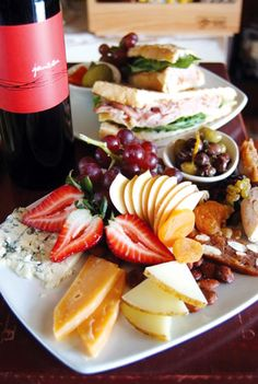 Wine/ Fruit & Cheese Platter - Simply the best!