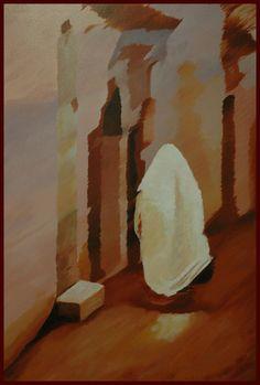 Tunisian / Acrilic on canvas 100x81cm /made by João Feijó 2007.
