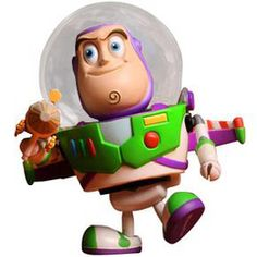 3112e9ab99f77 Figura Buzz Lightyear Toy Story Cosbaby Hot Toys
