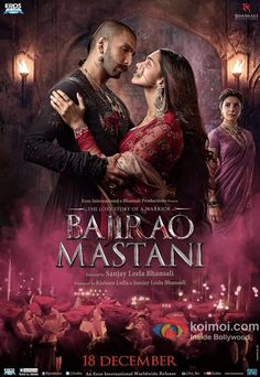 The New Poster Of Bajirao Mastani Oozes Love Passion & Jealousy