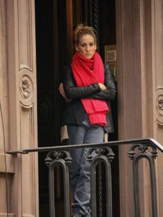always loved carrie's red scarf
