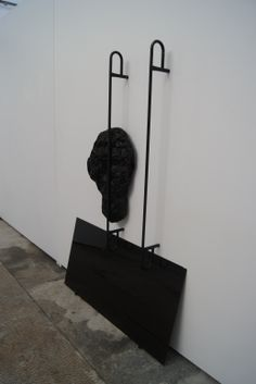 """Angelika Markul, """"A l'intérieur de la nuit"""", 2012, obiekt   Dofinansowano ze środków Ministra Kultury i Dziedzictwa Narodowego"""