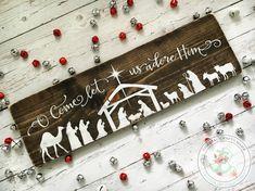 Signo de la Natividad O ven que nos adore le muestra signo de