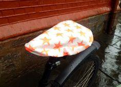 Håndarbeiden » Fresh opp sykkelen din med et praktisk setetrekk. DIY- voksduk - setetrekk - sykkelutstyr