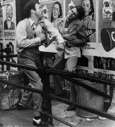The Godfather - Sonny Corleone (James Caan) beating Carlo Rizzi (Gianni Russo) The Godfather, James Caan Godfather, Godfather Actors, Al Pacino, Familia Corleone, Gianni Russo, Corleone Family, Gangster Movies, Cultura General