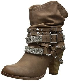 Not Rated Women's Swanky Boot, Nude, 6 M US Not Rated http://www.amazon.com/dp/B00T9M4DU8/ref=cm_sw_r_pi_dp_BvKxwb1CJ1GKB