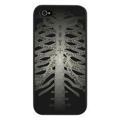 SUPERNATURAL ENOCHIAN RIBS iPhone 5 Case