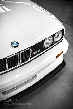 BMW E30 M3 by cbcreativephoto