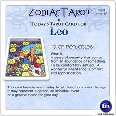 Click on ZodiacTarot for zodiac tarot cards for each sign.and get a free online I Ching reading here