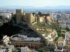 Alcazaba Almeria Spain