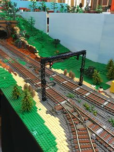 #Brickvention 2016 @ the Royal Melbourne Exhibition Building. Train signaling!