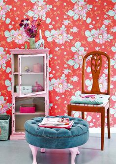 Eijffinger Rice behang 359043 Bloemen