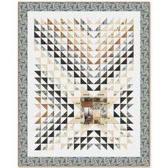 Windham Fabrics Destination Paris Heart of Paris Quilt Kit 59 by 74