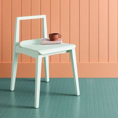 Pastel Green Studded Rubber Flooring Tiles - £49.95 per square metre