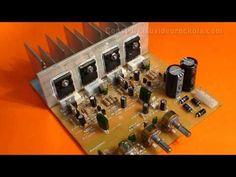 Amplificador estéreo de 400w parte 2 - YouTube