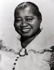 Hattie McDaniel...made her own money. a millionaire in a generation when this was not known for those who were black or a woman.