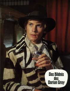 Helmut Berger in The Secret of Dorian Gray (1970) That coat!!!!!