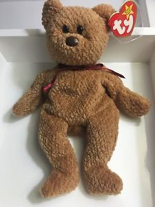 32628d2854b Ty Beanie Babies RARE Curly Bear 1993 Mint Condition with Tags Retired