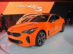 Limited-Edition Kia Stinger GTS Unveiled Kia Stinger, Sports Sedan, Limited Slip Differential, Twin Turbo, Carbon Fiber, Model, Blog, Iphone 6, Check