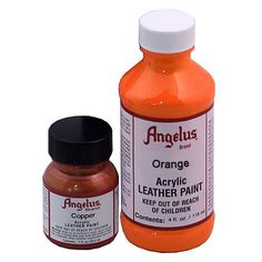 Angelus Leather Paint--decorate or recolor leather Leather Dye, Smooth Leather, Leather Craft, Tooled Leather, Leather Flats, Leather Tooling, Real Leather, Leather Jacket, Painting Tips