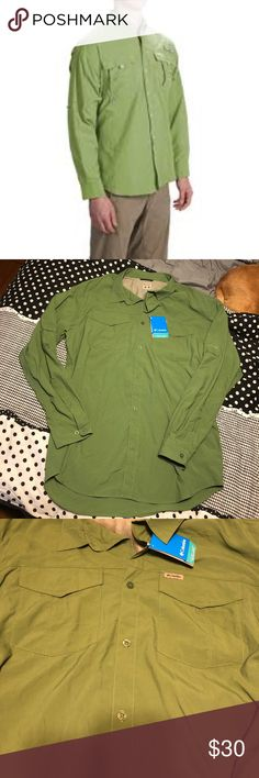 NWT Columbia PFG Size XL Brand new with tags! No flaws. Omni-Dry. Would make an excellent gift!!! Feel free to negotiate prices and save by bundling. Columbia Shirts Casual Button Down Shirts