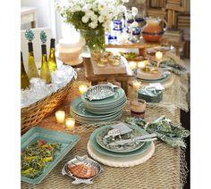 sea themed table