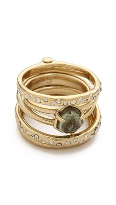 stack rings - sparkle
