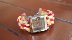 S.T.E.L.: Weave yourself a colourful watch band!