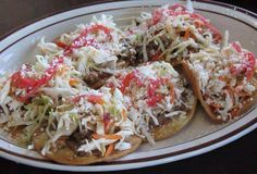 Enchiladas, comida típica hondureña.
