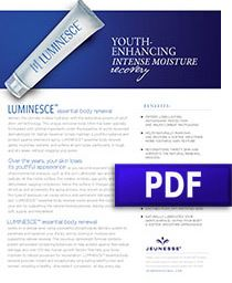 Luminesce Essential Body Renewal Product Sheet