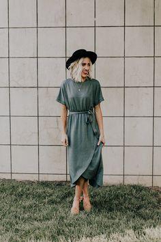 Savon Wrap Dress | ROOLEE