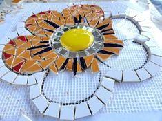Mosaiquismo sobre malla