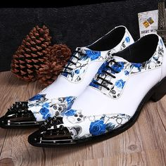 shoes women high heels on sale at reasonable prices, buy New Summer Leather Pointed Shoes White Wedding Shoes Hairstylist Height Increased British Men's Casual Shoes Men Leather Shoes from mobile site on Aliexpress Now! Men's Wedding Shoes, Flat Dress Shoes, Men S Shoes, White Shoes, Swagg, Gentleman, Leather Shoes, Casual Shoes, Shoe Boots