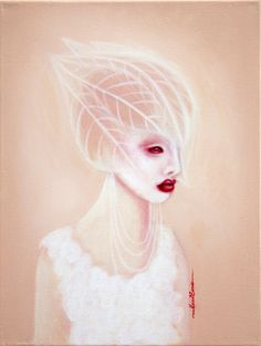 Masha Vereshchenko was born in Russia and immigrated to Detroit at age 12. Her paintings reflect her current fascinations and struggles; at present, overcoming addiction, her love for drag queens, fashion editorial, and Avant-garde.