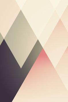 graphisme / losanges / pastel