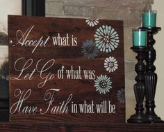 Large Reclaim Wood Sign with Inspirational Quote on Pallet Sign Pallet Art Shabby Chic Rustic Chic Farmhouse Home Decor Pallet Wall Art by MadeByFreckles on Etsy https://www.etsy.com/listing/232953985/large-reclaim-wood-sign-with