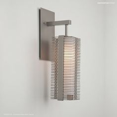 Downtown Mesh Hanging Wall Light by Hammerton Studio Black Wall Sconce, Candle Wall Sconces, Wall Sconce Lighting, Studio Lighting, Contemporary Light Fixtures, Contemporary Chandelier, Light Crafts, Drum Chandelier, Glass Diffuser