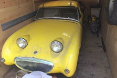 What A Smile! 1961 Austin Healey Sprite - http://barnfinds.com/what-a-smile-1961-austin-healey-sprite/