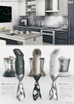Kitchen Appliances on Industrial Design Served
