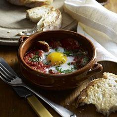 Spanish Baked Eggs  #BakersDelight