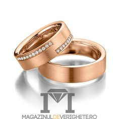 Verighete aur roz 5.5mm MDV 5040 #verighete #verighete5mm #verigheteaur #verigheteaurroz #magazinuldeverighete Wedding Rings, Engagement Rings, Jewelry, Rocks, Diamond, Enagement Rings, Jewlery, Jewerly, Schmuck